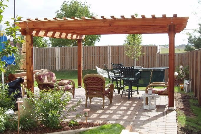 16x20 this is the plan for next summer outdoor living for Diy free standing pergola