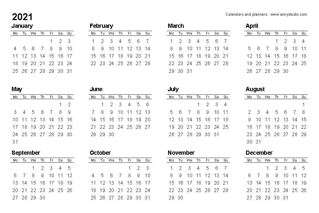 Pin Di Free Calendar 2020 2021