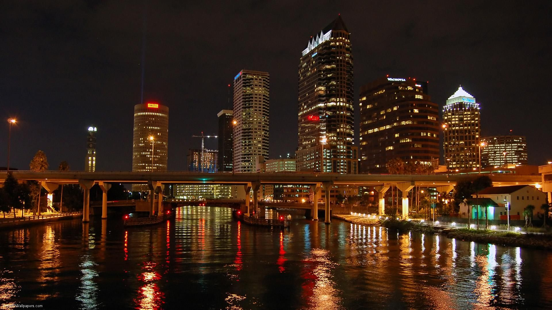 Tampa Bay NightScape. Home Sweet Home!