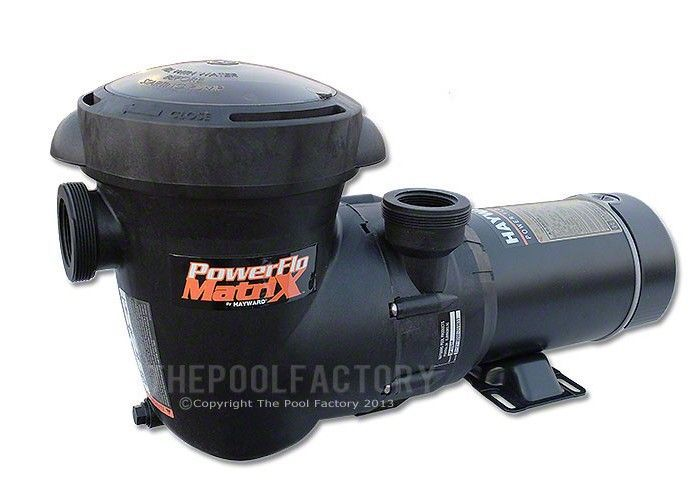 Hayward Power Flo Matrix Pump 1 Hp Vertical Discharge