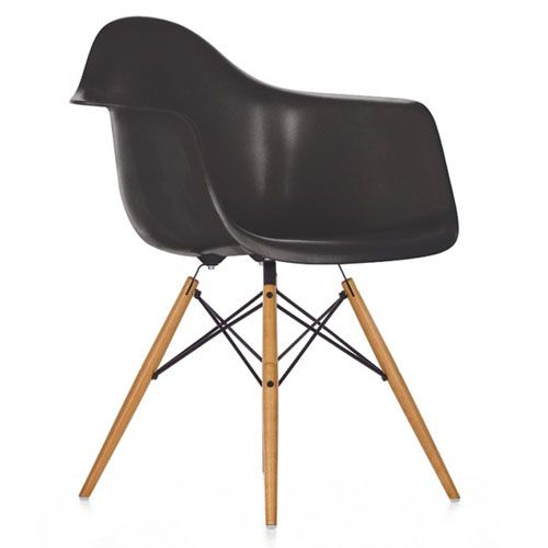 Eames fauteuil DAW pieds clairs