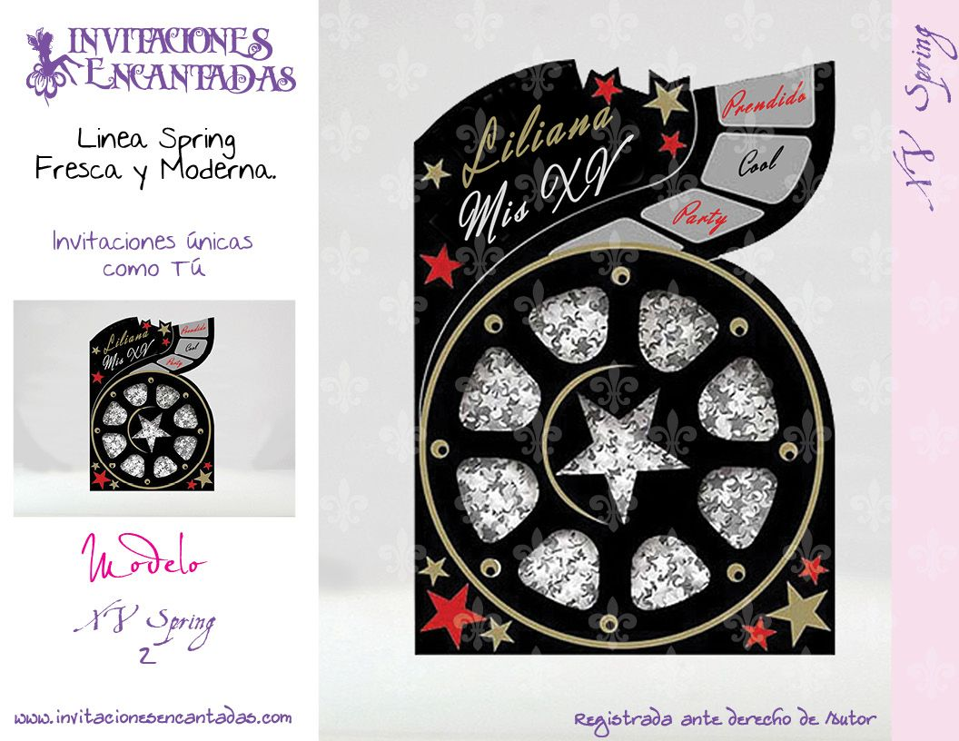 tarjetas quince on Pinterest 15 Anos, Bodas and Invitations