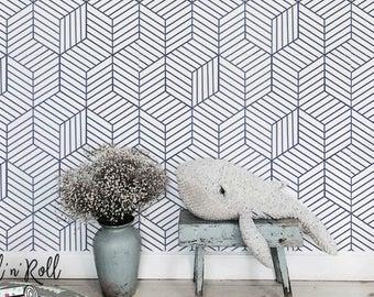 Geometric Wallpaper Etsy Uk Geometric Wallpaper Geometric Wallpaper Uk Geometric