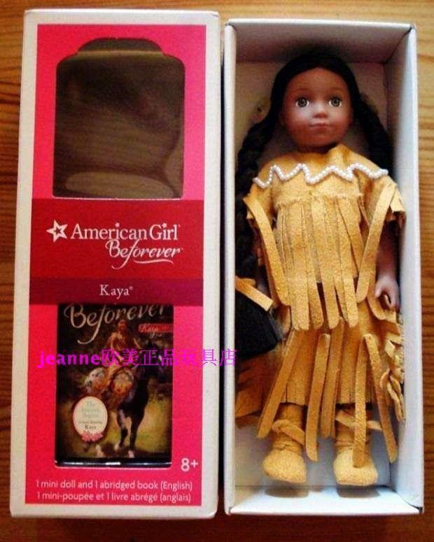 Toys Juvenile Grades 3-4 Ages 8-9 Juvenile Non-Fiction Kaya 2014 Mini Doll /& Book Grades 3-4 JUVENILE JUVENILE NONFICTION Amer Girl SG/_1609585410/_US Toys Dolls /& Puppets Children American Girl