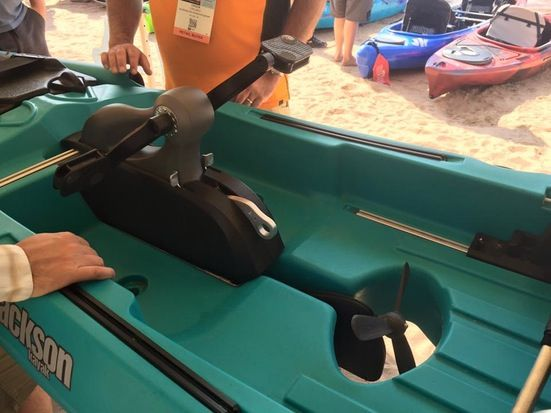 First look jackson kayak coosa fd pedal drive kayak for Pedal drive fishing kayak