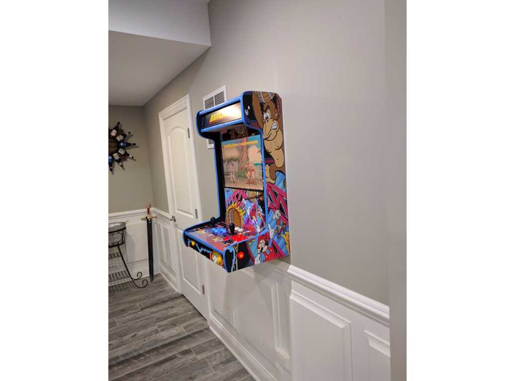 Image result for wall mounted arcade cabinet | Home DIY Ideas ...