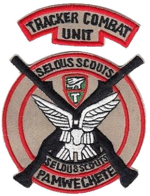 Rhodesia Army Special Forces Combat Tracker Selous Scouts Commando Pamwe Chete K En 2020 Insignias Militares Insignias Militar