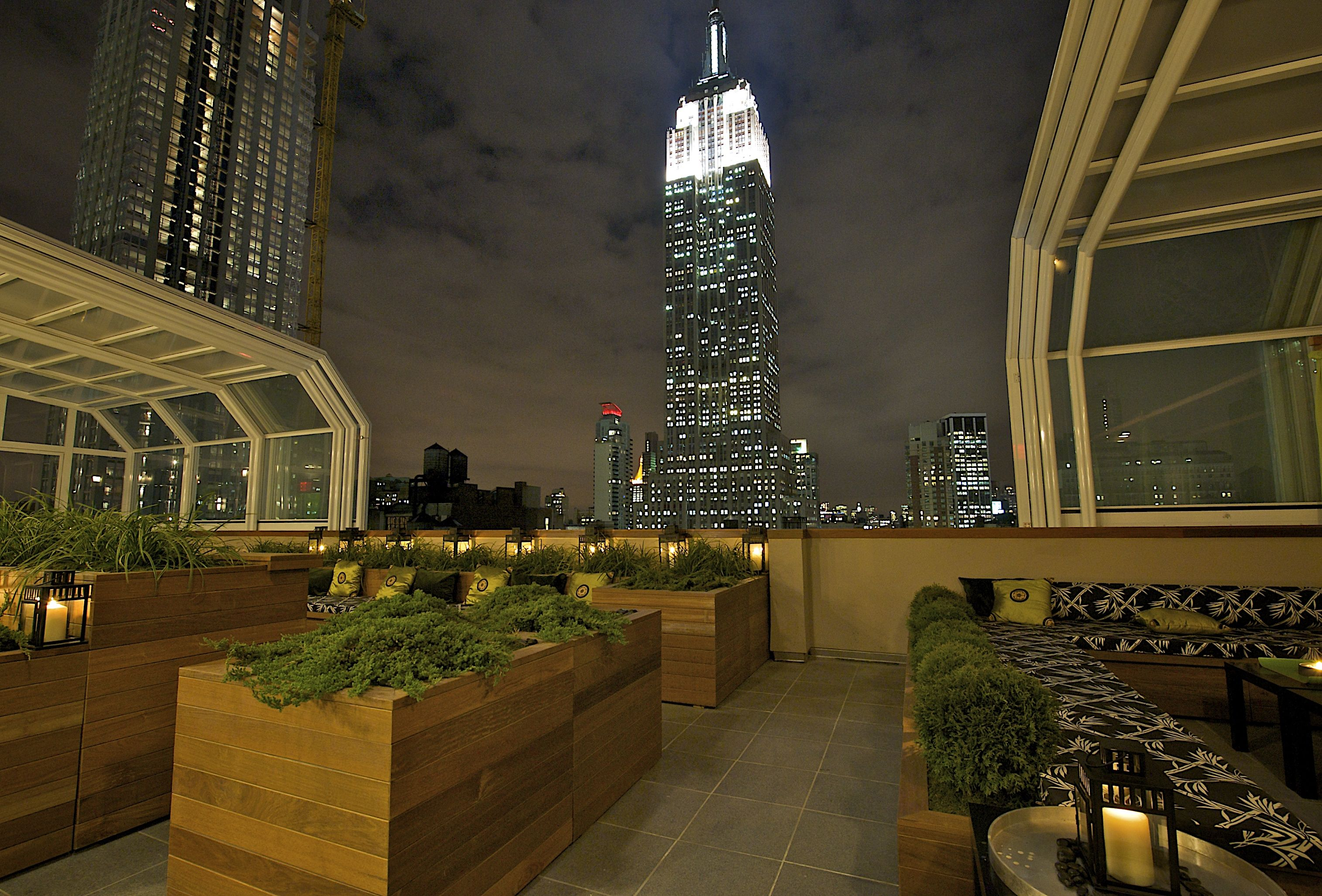 Roll-A-Cover\'s Retractable Rooftop Enclosure at The Strand Hotel ...
