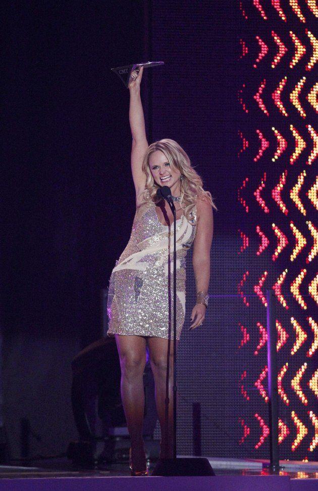 CMT Award Winners Miranda lambert, Blake shelton miranda