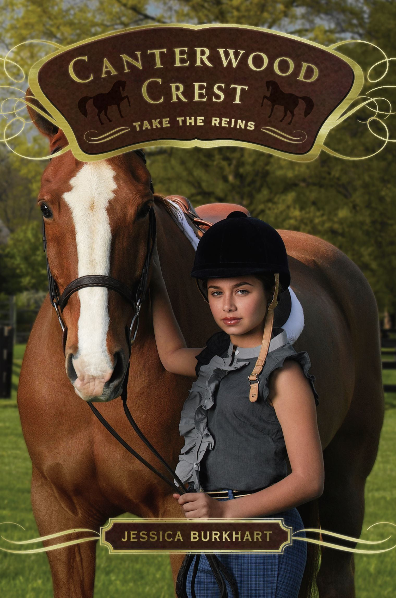 Take the Reins Canterwood Crest