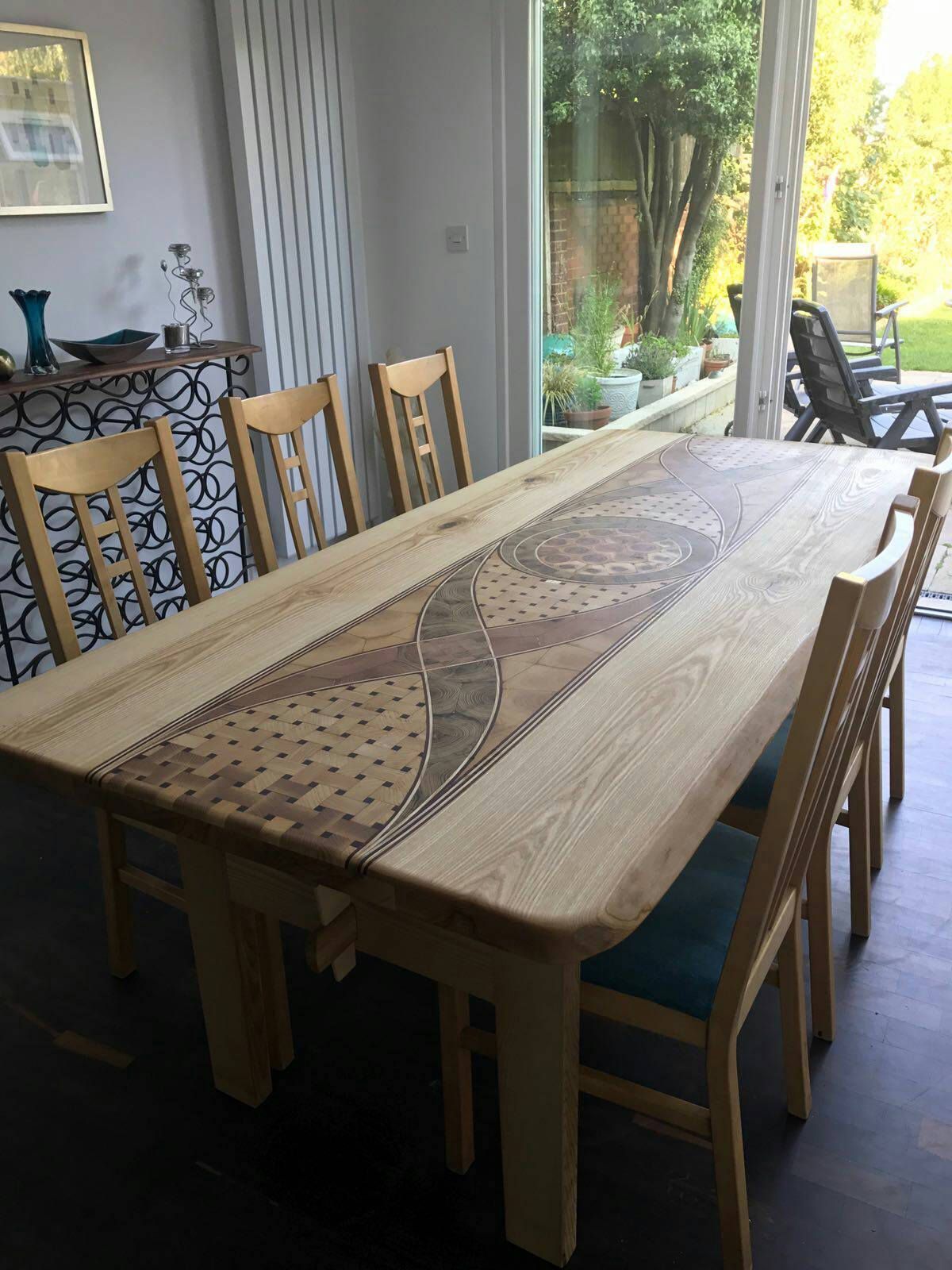 Outdoor Wood Center Table