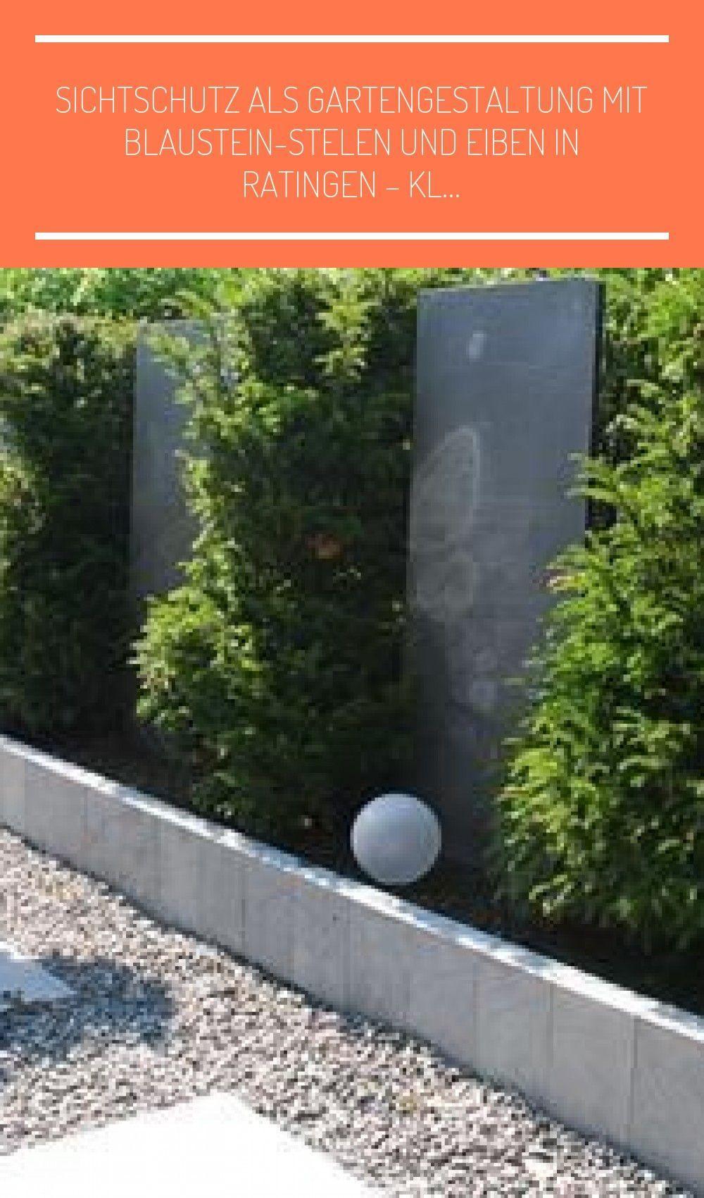 Sichtschutz Als Gartengestaltu In 2020 Gartengestaltung Garten