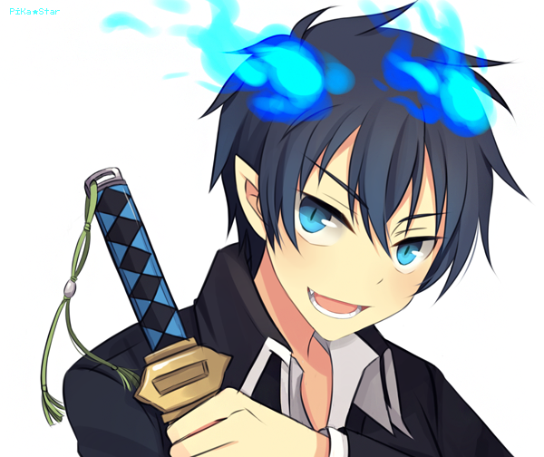 Rin Okumura by Wusagi2 on deviantART Blue exorcist rin