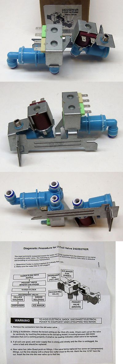 Refrigerator Water Valve For Electrolux Frigidaire 242252702 Ap5671757 Ps7784018 840993013614 Ebay Water Valves Refrigerator Models Electrolux