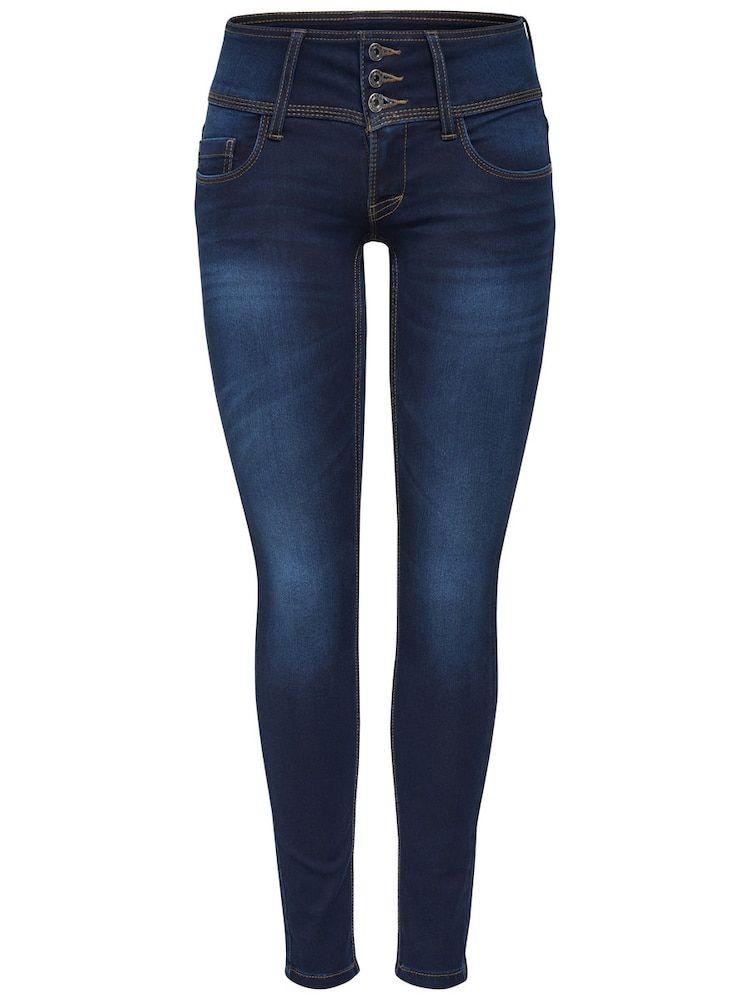 Photo of ONLY Skinny Fit Jeans Anemone, i blå denim