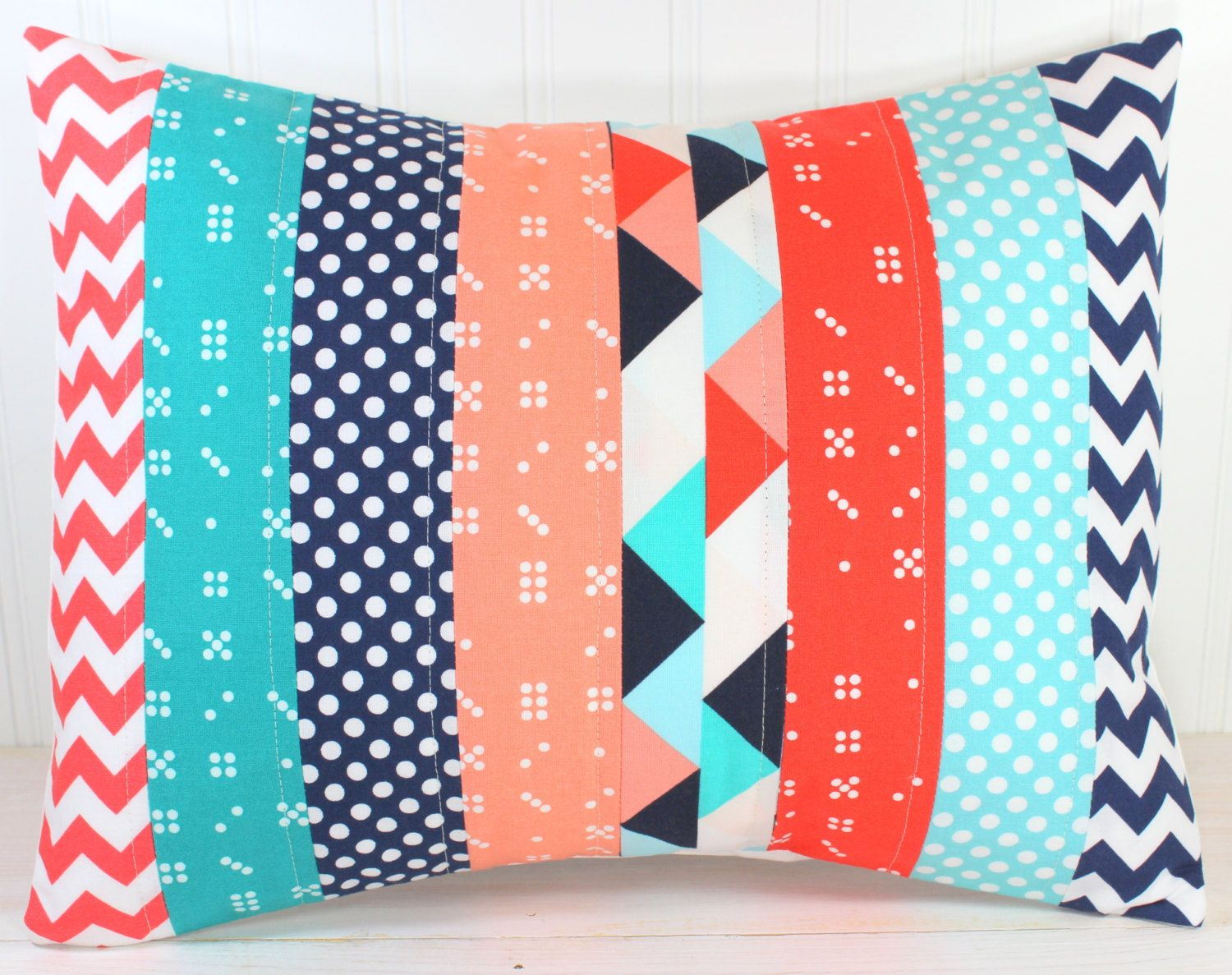 Turquoise and coral chevron revamp   Coral room decor ...
