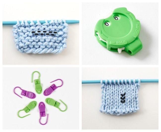 Knitting Row Counter Tools & Strategies | Pinterest