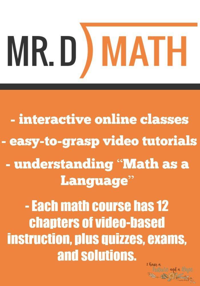 Mr.D Math Pre-Algebra: Homeschool Math | Algebra, Math and Learn ...