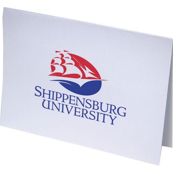 Shippensburg University 10 Pack Notecards Ship Pride