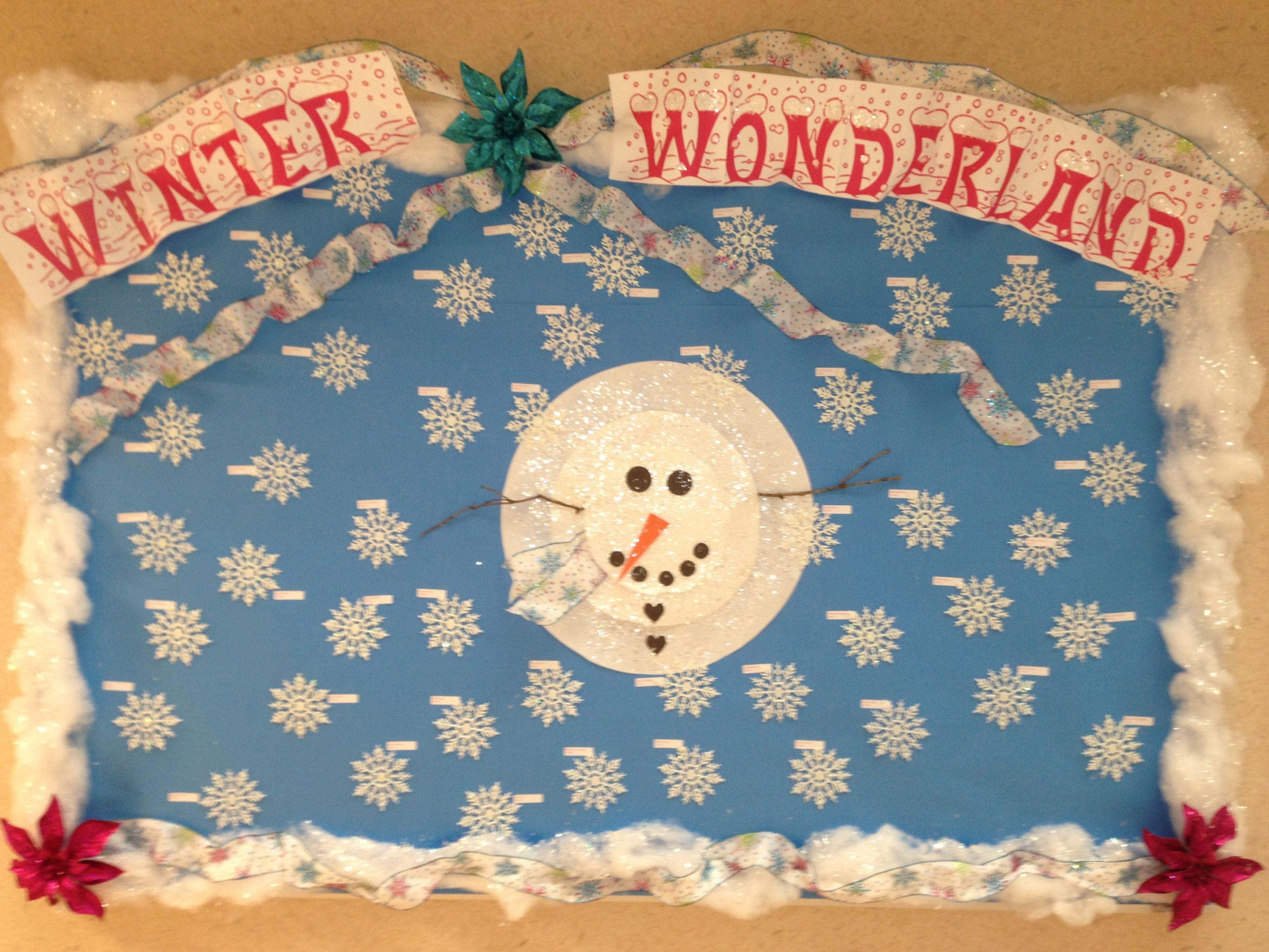 Winter Bulletin Board | Bulletin Board Ideas | Pinterest ...  Winter Bulletin...