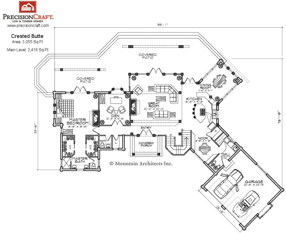 Image Gallery Log House Blueprints