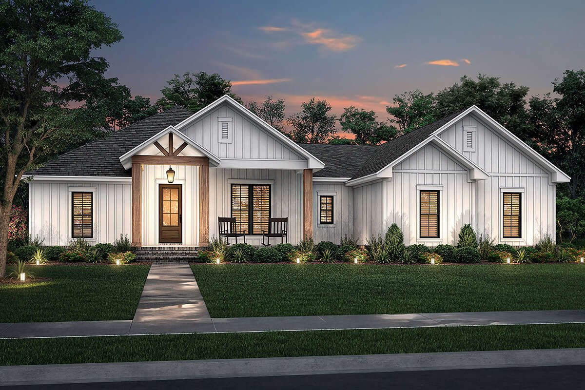 16++ Contemporary farmhouse style homes best