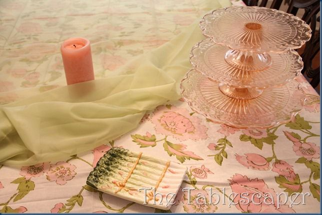 The Tablescaper: Ladies Luncheon Buffet