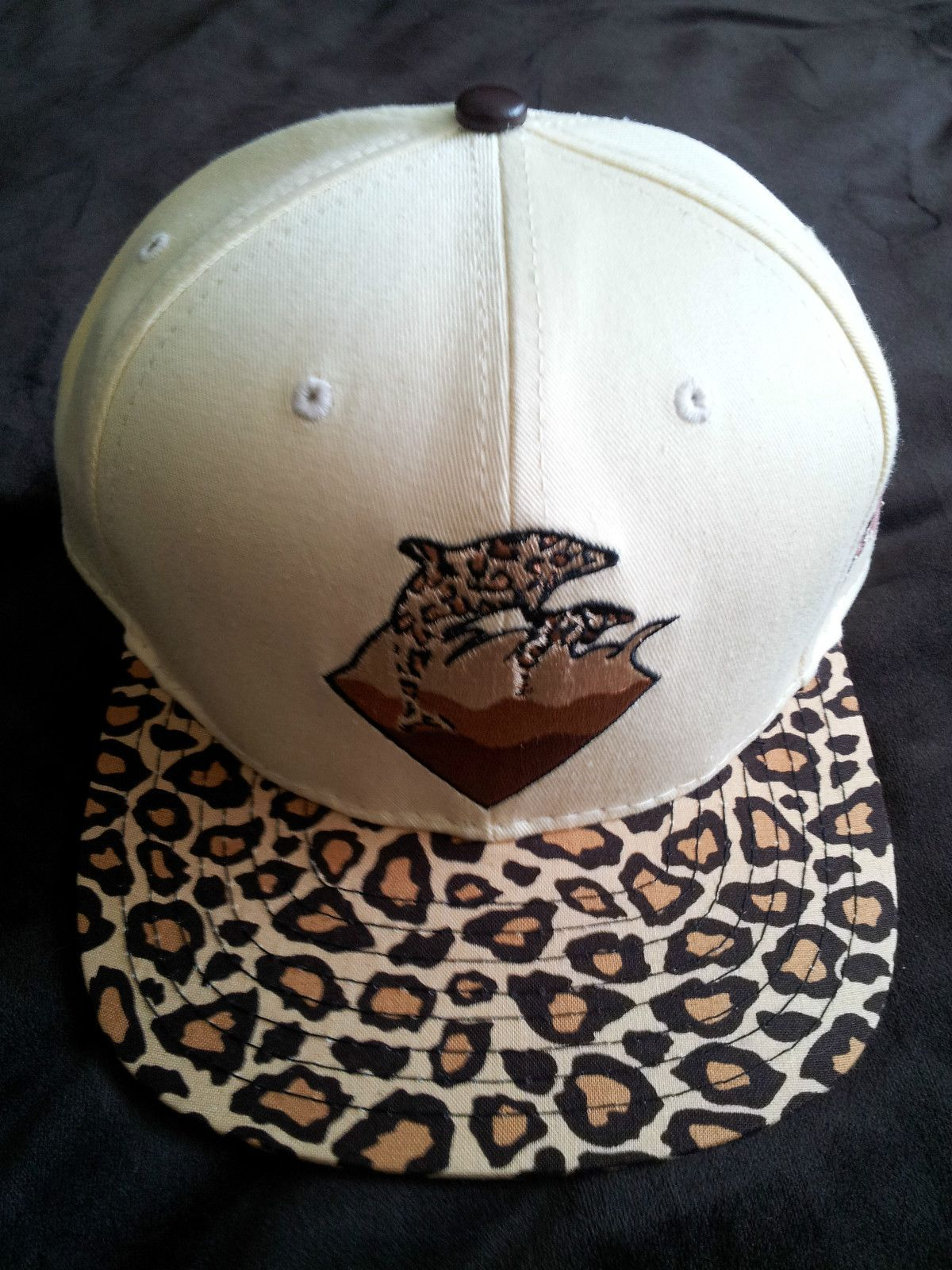 ce1ff066 Details about Pink Dolphin Clothing Waves Cheetah Leopard Strapback ...