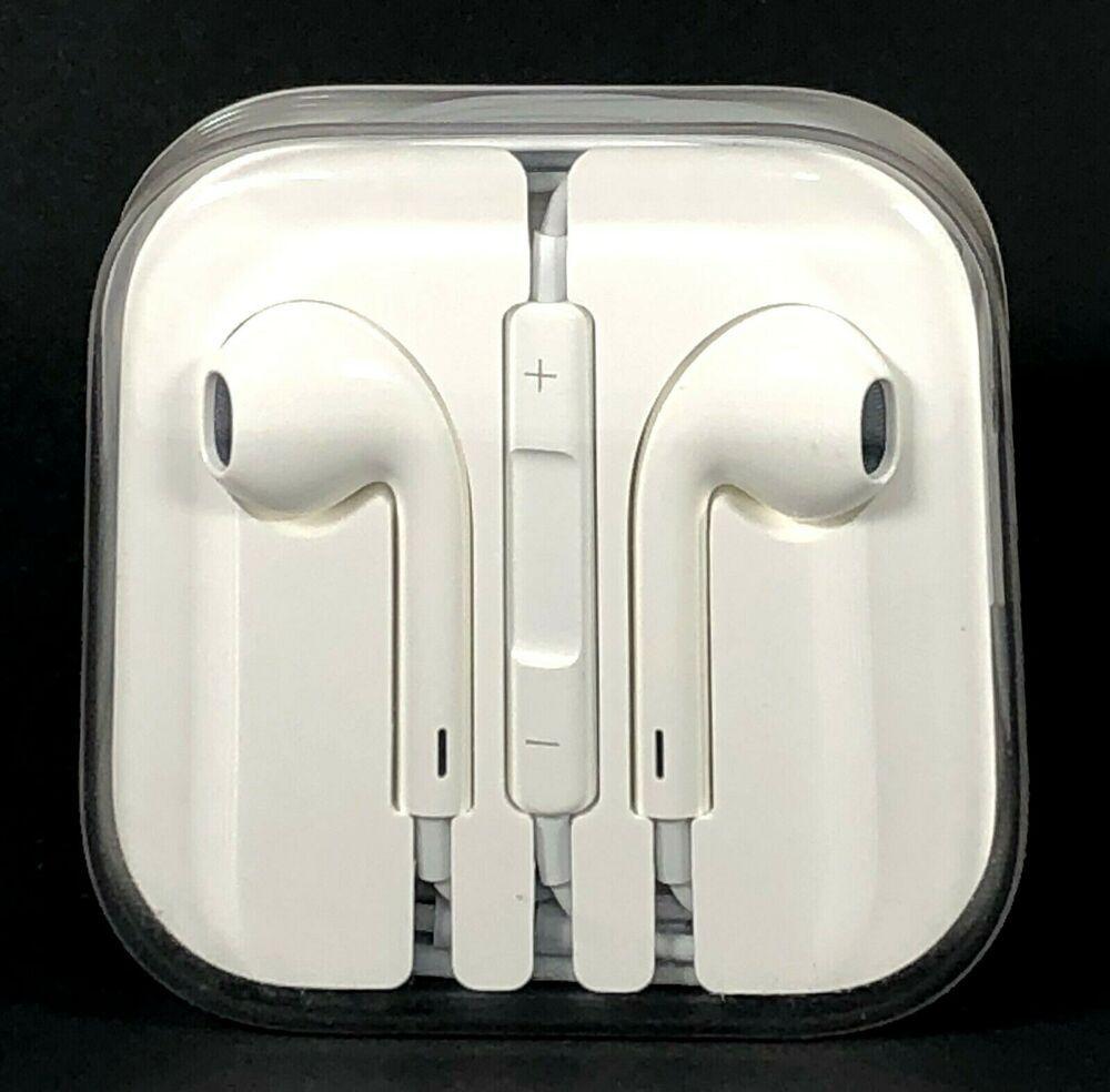 Oem Original Apple Earpods Headphones For Iphone Earphones Earbuds 3 5mm Jack Ebay Iphone Earphones Earbuds Earphone