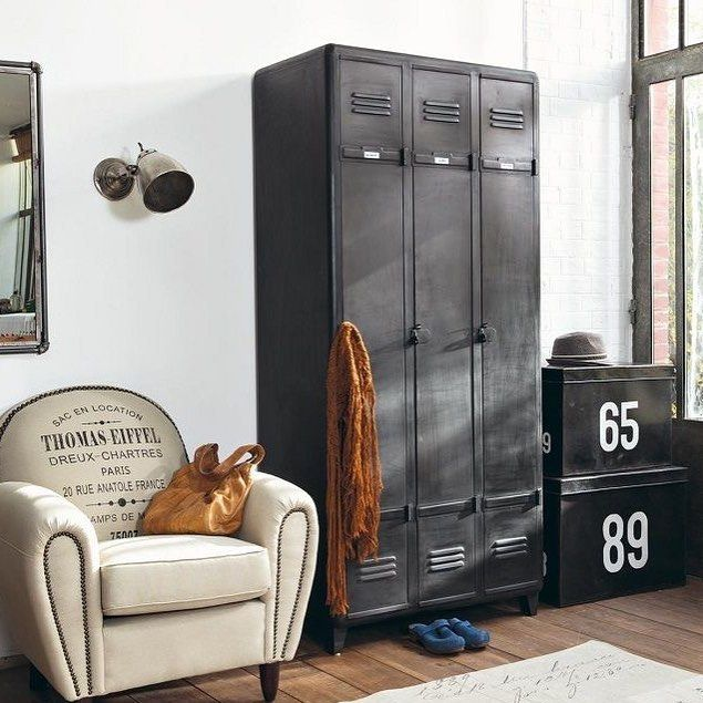 Decoracao Masculina Design De Moveis Mobiliario Industrial Vintage Ideias Para Mobilia
