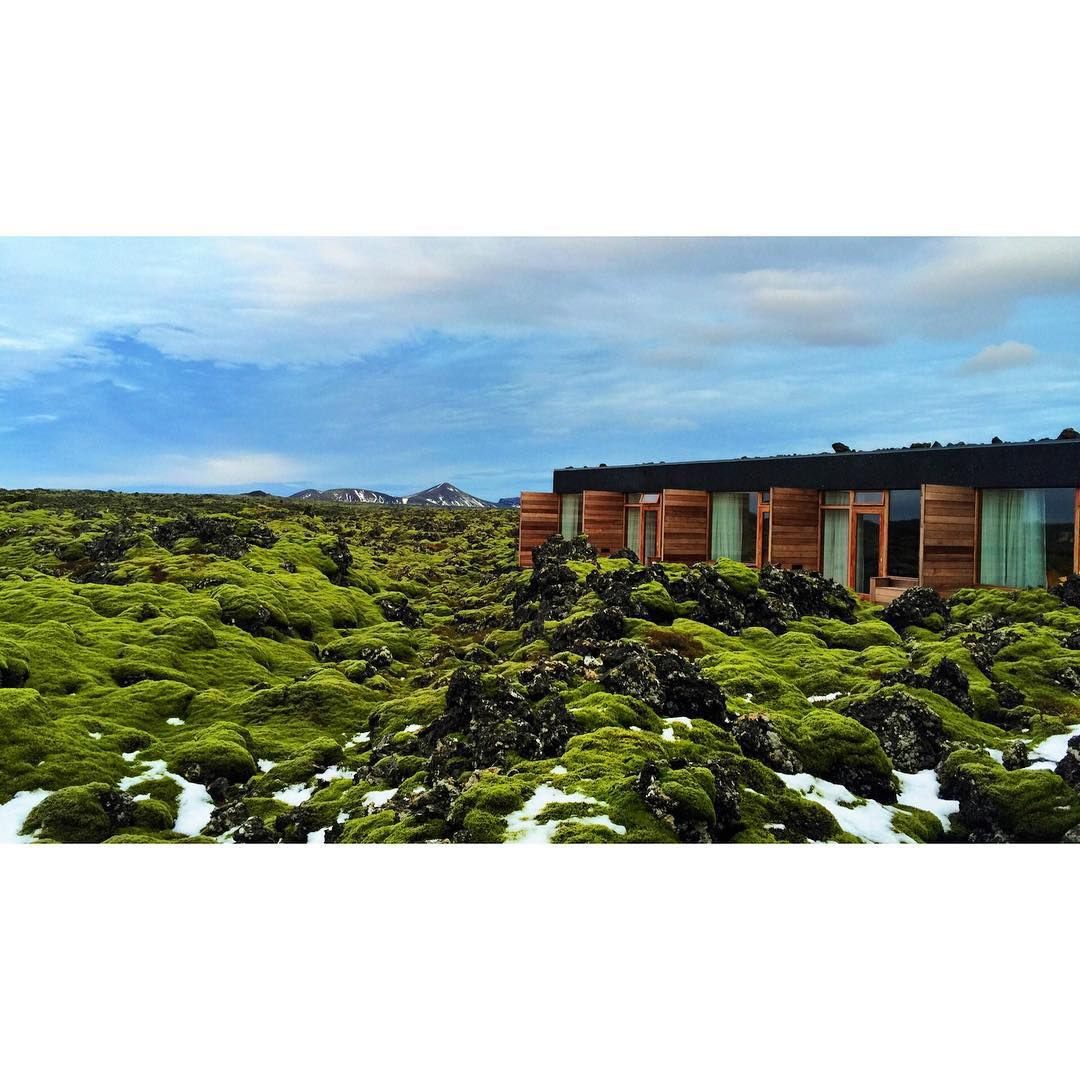 Peaceful environment at Blue Lagoon Hotel. #BlueLagoon #Iceland - photo by @harryehrlich