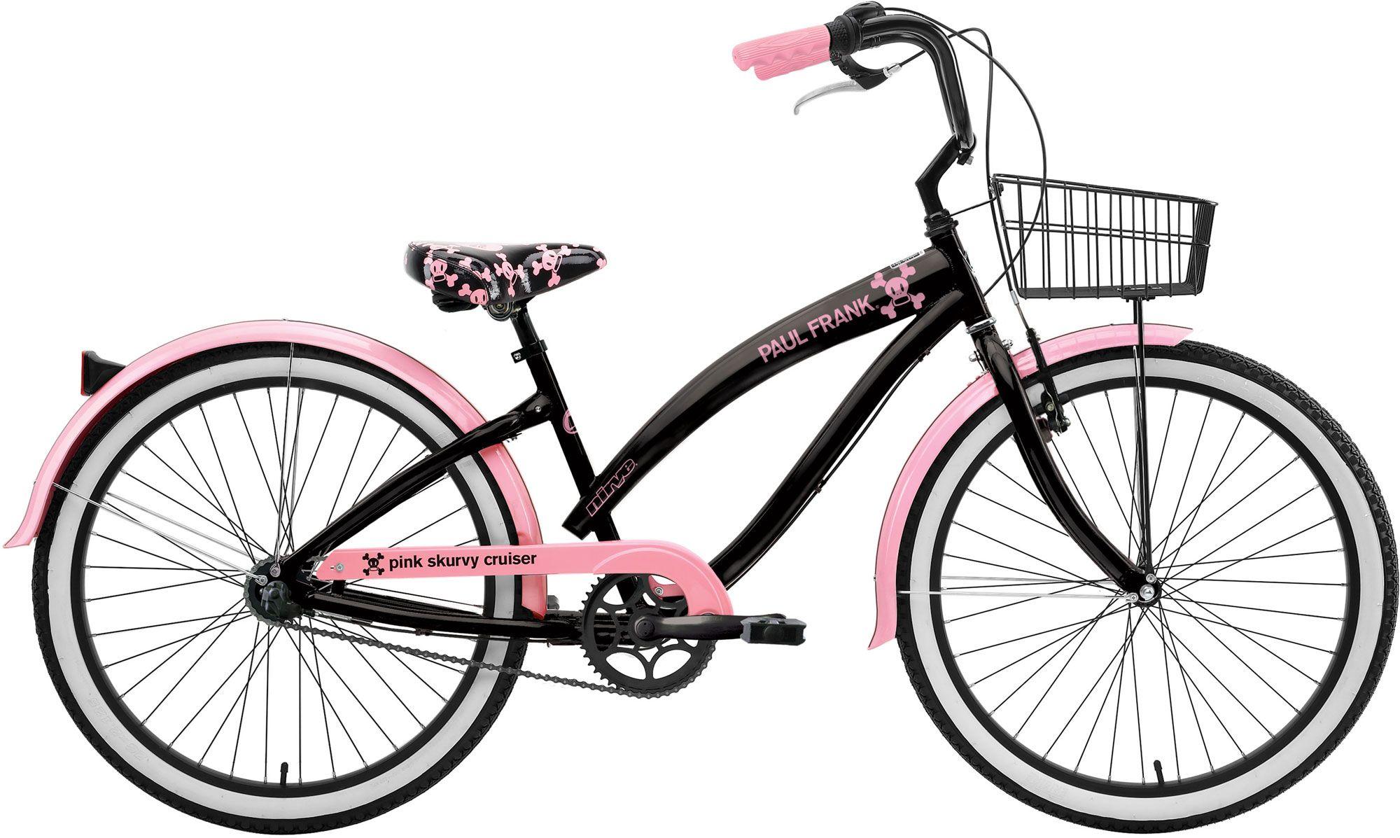 Nirve Paul Frank Skurvy 3 Speed Beach Cruiser Bicycle Beach Cruiser Bikes Cruiser Bicycle