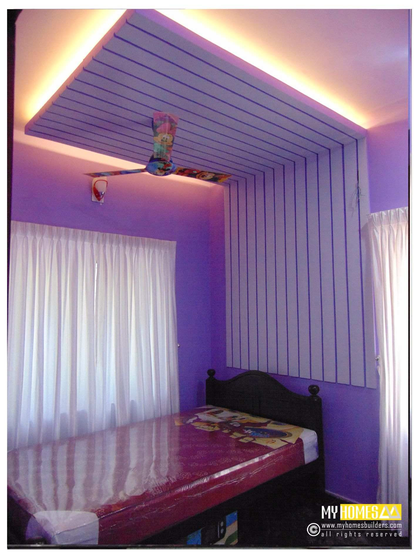 Simple Style Interior Ideal Kids Bedroom Designs In Kerala India