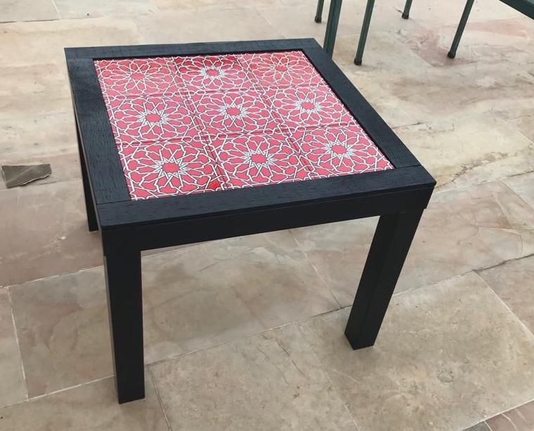 The Easy Way To Make A Ceramic Tile Coffee Table Tiled Coffee