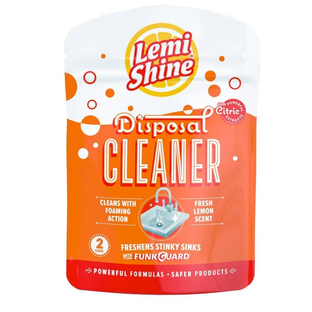 Lemi Shine Disposal Cleaner Citric 2ct Disposal Cleaner Lemi