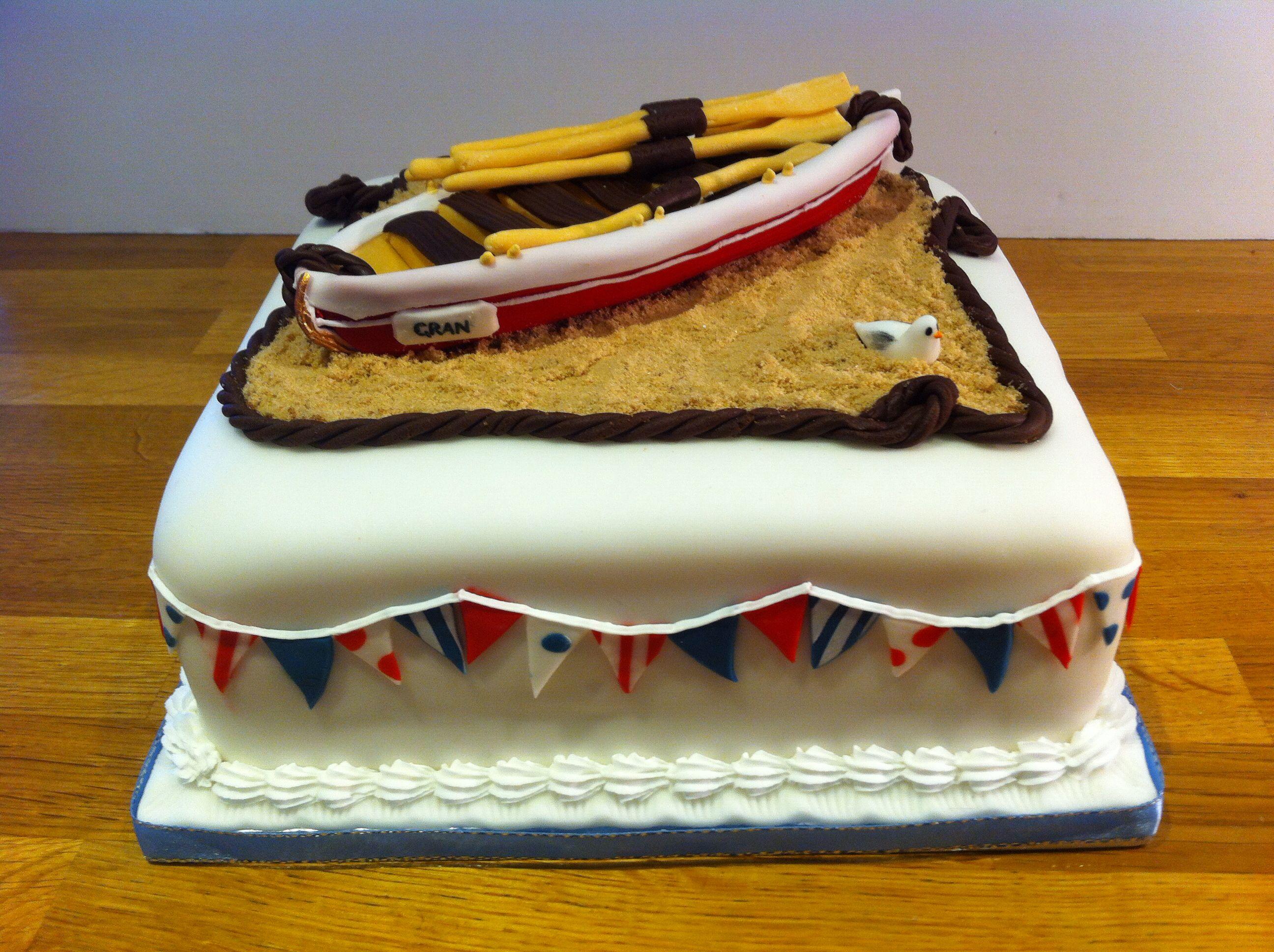 Gig Rowing Cake