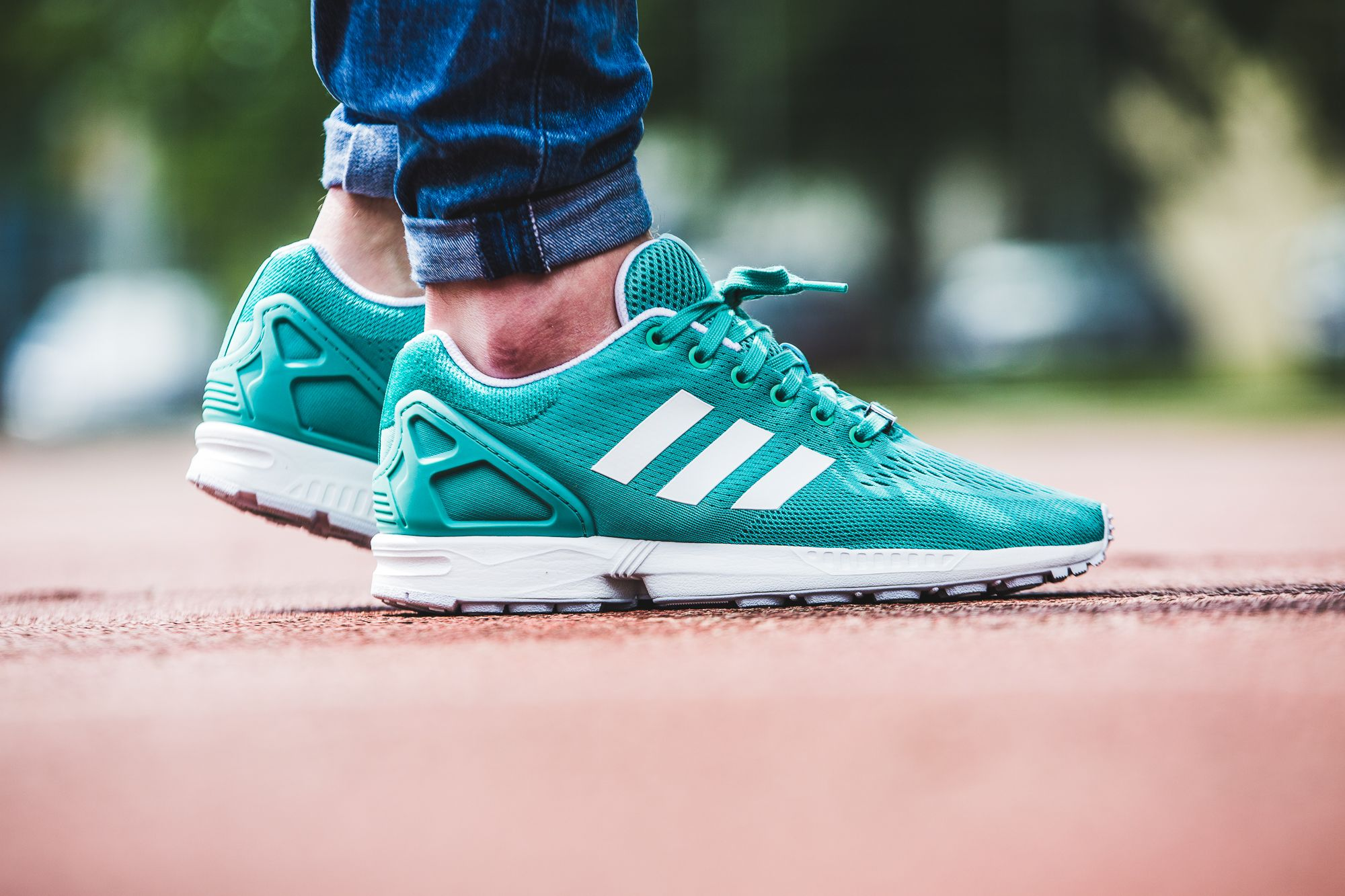 adidas Originals ZX Flux (green) | EU 42 - 47 1/3 | 100,-€