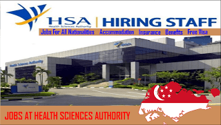 Job Description Health Sciences Authority Hsa Invited The