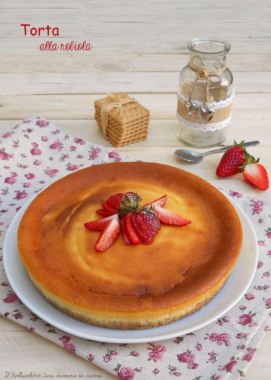 Photo of #TORTA ALLA #ROBIOLA, una #cheesecake cremosa e delicata che si s