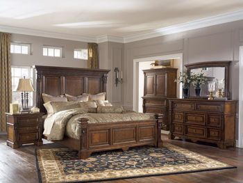 California King Bedroom Set Preferably Solid Wood Like The