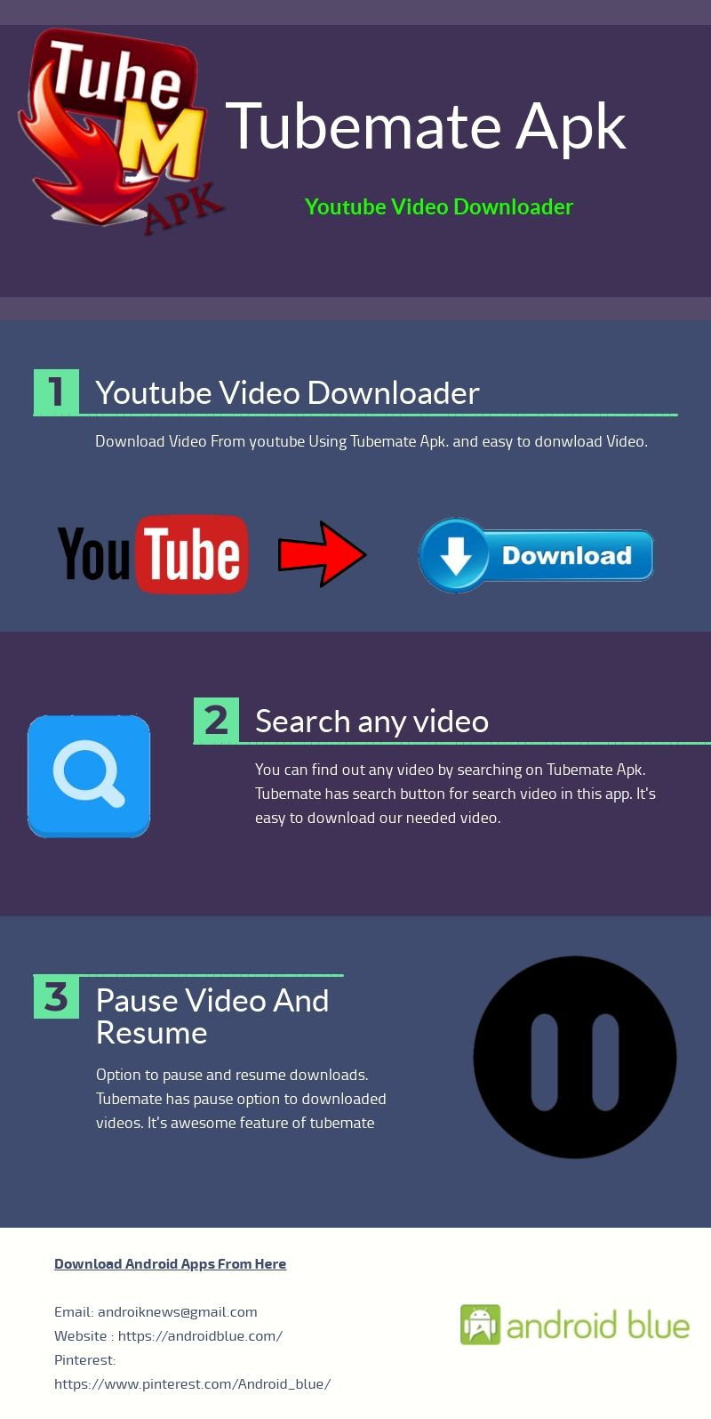 Tubemate Apk Video downloader app, Download app, Video