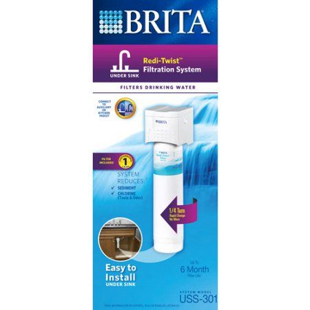 Brita Redi Twist Replacement Filter Usf 202 Products Under Sink Kitchen Sink Faucets Sink Faucets