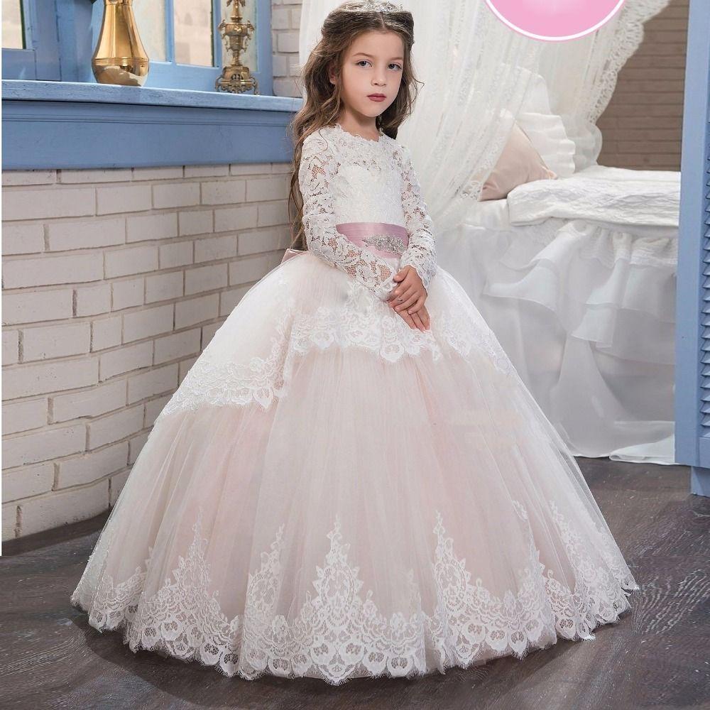 pas cher 2017 robes de fille de fleur mignon pour les