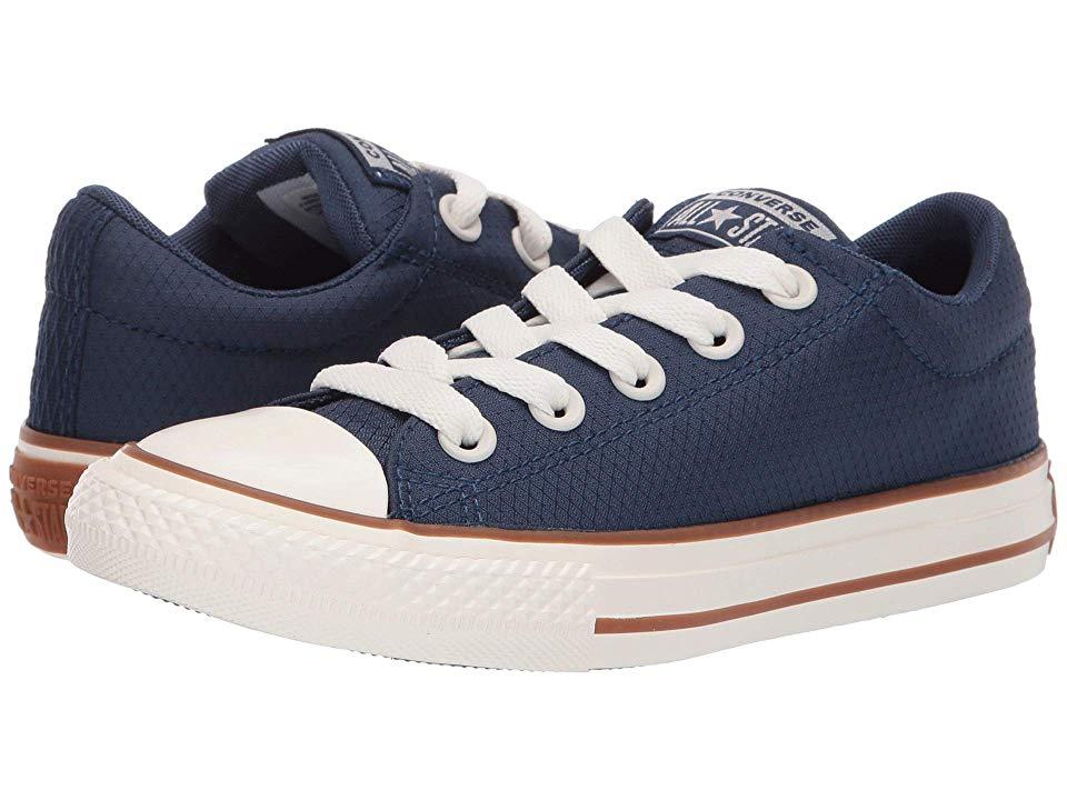 Converse Kids Chuck Taylor All Star Street Pinstripe Mid Top Sneaker