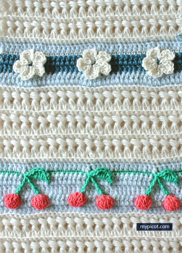 MyPicot | Free Crochet Stitch Patterns | crochet stitches, etc ...
