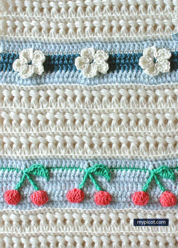 MyPicot   Free Crochet Stitch Patterns   crochet stitches, etc ...