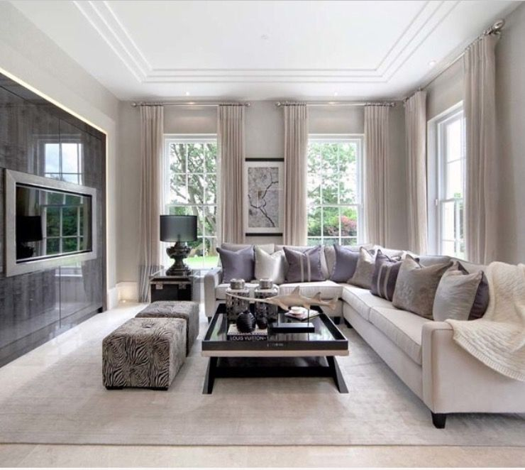Elegant living room area home cinema also pin by  wednesday on decor in pinterest rh