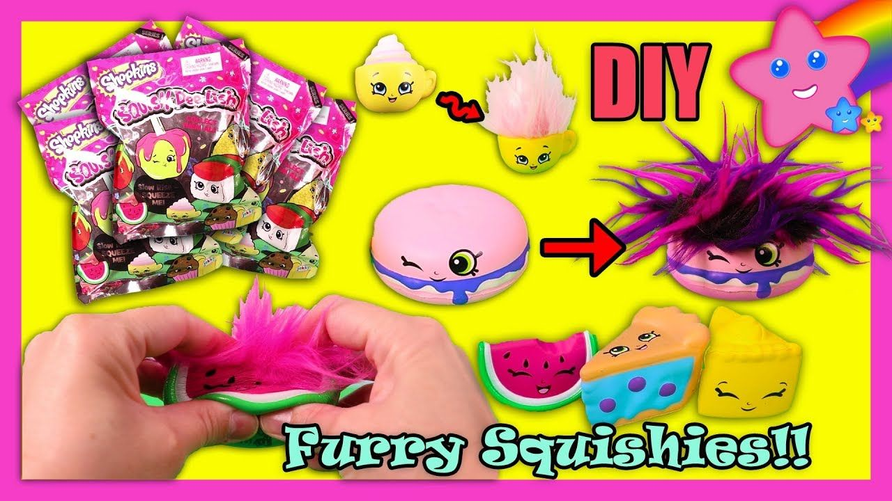 how to make squishies slow rising easy