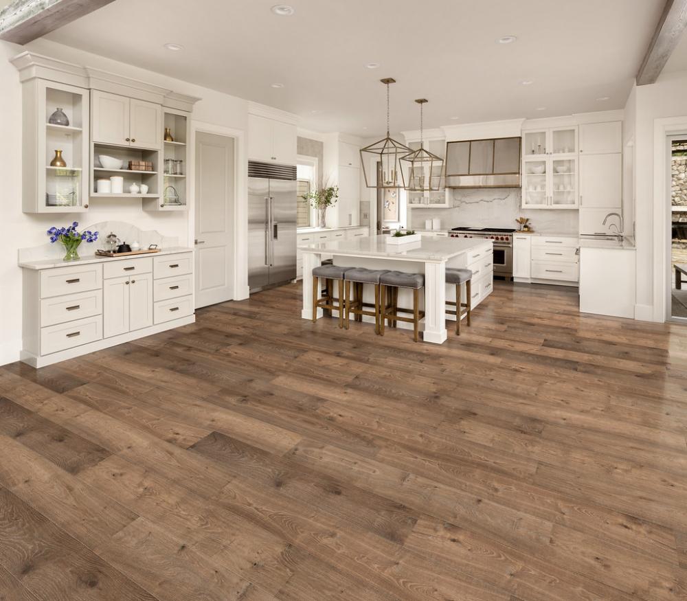 Knotty Barrel Oak Extra Wide T&G Cali Hardwoods Flooring - Cali Bamboo