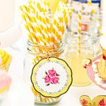 Truly Scrumptious Yellow Paper Straws Got a pack of these too :)